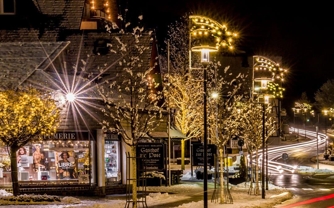 Sponsoren für die Weihnachtsbeleuchtung gesucht!